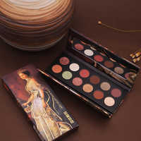 HOJO Eyeshadow Palette King Power Noble Oil Painting Eye Shadow Pearlescent Glitter Sequins Eyeshadow Pigment Eye Shadow Palette