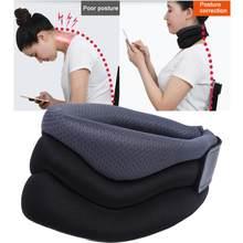 Korektor urządzenie szyjki macicy ochrona szyi korektor postawy wsparcie szyi ulga w bólu szelki obsługuje
