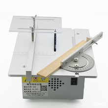 Mini Table Saw Multi-function Miniature Desktop Model Chainsaw DIY Woodworking Small Cutting Machine Slot Saw