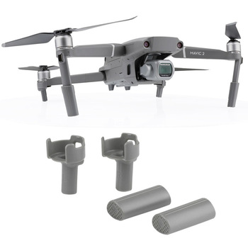 For DJI MAVIC 2 PRO Accessories Extended Landing Gear Skid Gimbal Protector Stabilizer Landing Gear For DJI MAVIC 2 Pro ZOOM image