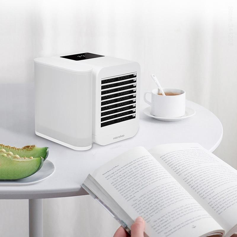 ar condicionado portatil mini condicionado sem laminas ventilador resfriador ar 02