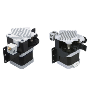 Image 3 - 3D Printer Upgrade Parts Titan Aero HeatSink aluminum Cooling block V6 titan Extruder Short Range Hotend Kit 1.75mm Radiator