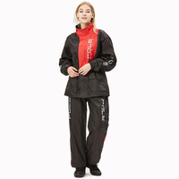 POLE Motorcycle Raincoat Breathable Split Type Jacket Pants Motocross Raincoat Rain Suit Motorbike Raincoat Suits