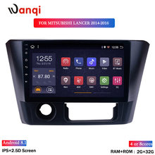 2G RAM 32G ROM Android 8.1 auto Stereo 9 inch HD for 2014-2016 Mitsubishi Lancer Radio GPS Navigation(China)