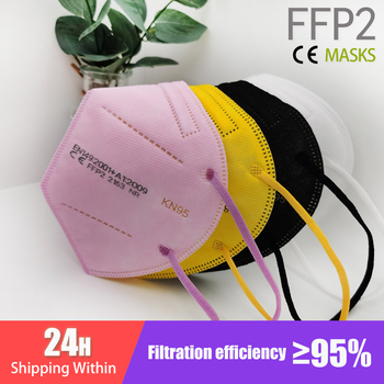 FFP2 Mascarillas CE Mask Black KN95 Mask 5 Layers Face Mask KN95 Filter Respirator Mask Face Pink s KN95 filter ffp2mask