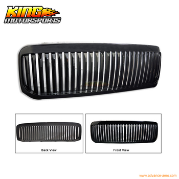 Fit For 99-04 Ford F250 F350 Excursion Vertical Grille Black USA Domestic Free Shipping Hot Selling