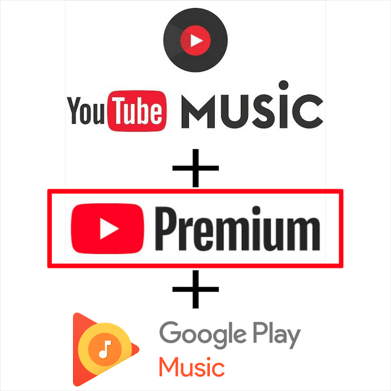 Youtube Premium y Youtube, funciona con IOS, Android, tableta, PC, disfrutar de todas las características de Premium