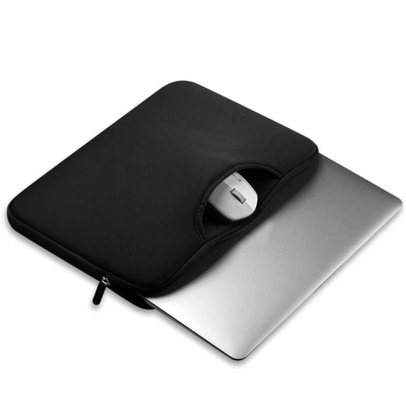 แล็ปท็อปกระเป๋าใส่แท็บเล็ตสำหรับ 15.6 นิ้วหรือน้อยกว่าโน้ตบุ๊คสำหรับ Xiaomi Huawei HP DELL สีบริสุทธิ์