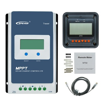 Tracer1210AN 12 volt 10 amp MPPT solar charger controller with lcd display cheap price me mppt4880d 80a mppt china price solar charge controller with lcd display