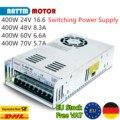 『 ЕС бесплатно 』 400 Вт 24 в 48 в 60 в 70 в импульсный источник питания постоянного тока с одним выходом для фрезерного станка с ЧПУ, лазерный грав...