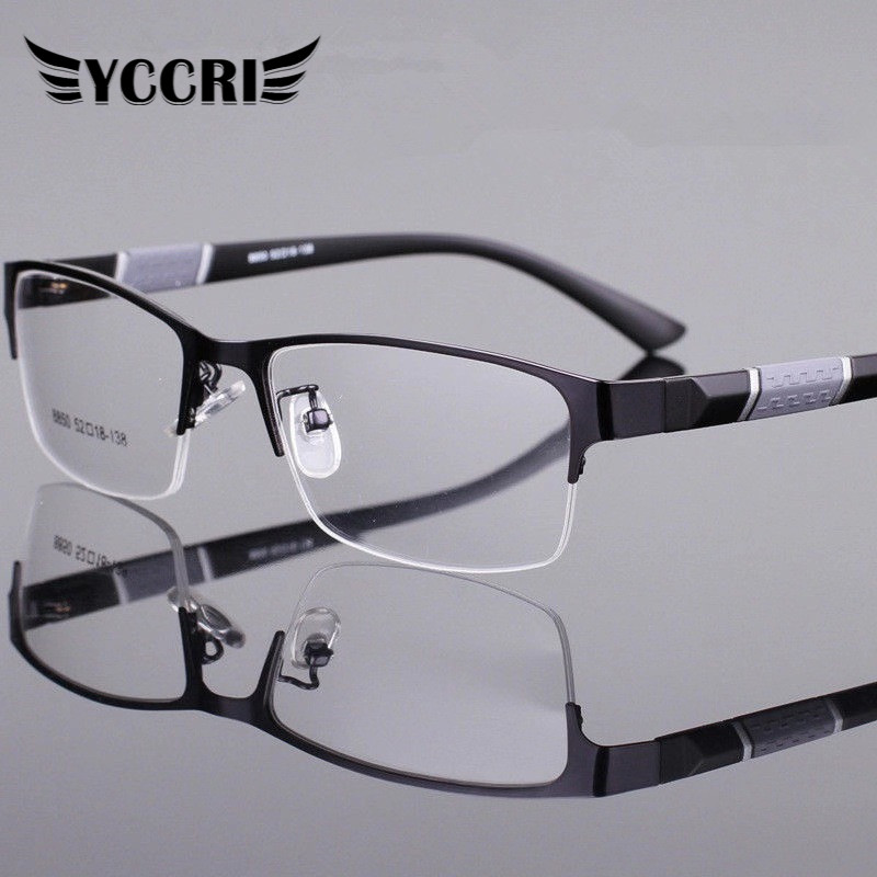 Reading-Glasses Presbyopic Half-Frame Business Male Women High-Quality Lentes-De-Lectura