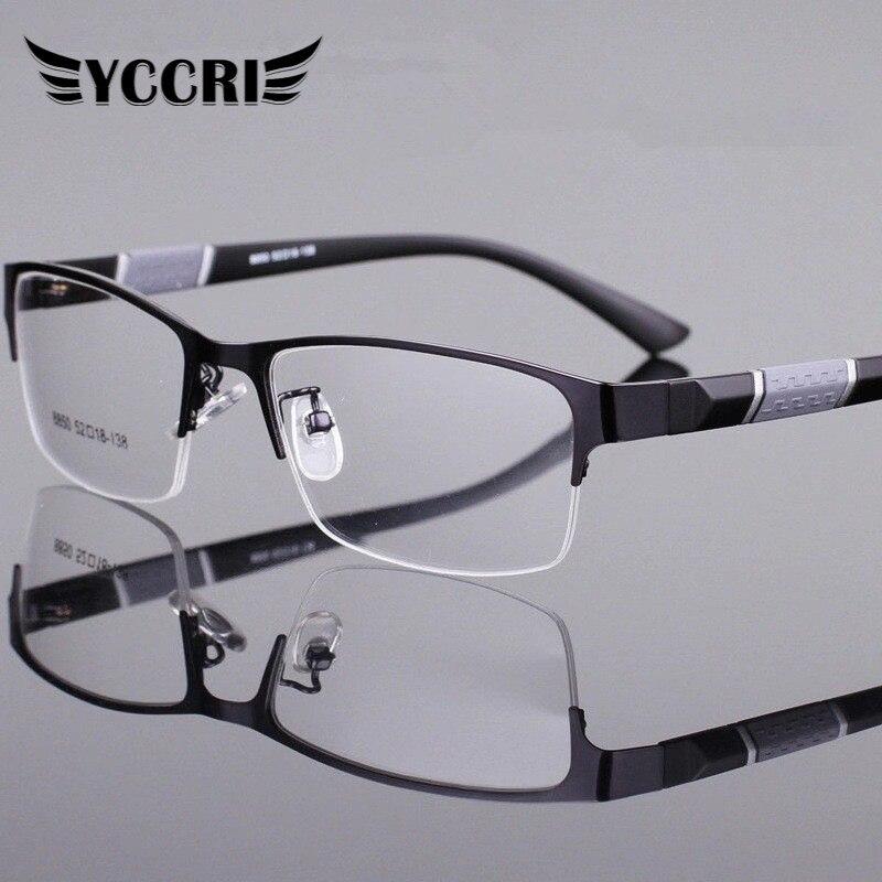 Reading Glasses Men Women High Quality Half-frame Diopter Glasses Business Male Presbyopic Eyeglasses  Lentes De Lectura Mujer 1