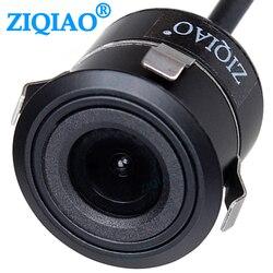 ZIQIAO uniwersalny kamera cofania dla pomocniczych monitor do parkowania System CCD samochodowa kamera tylna HS016 w Kamery pojazdowe od Samochody i motocykle na