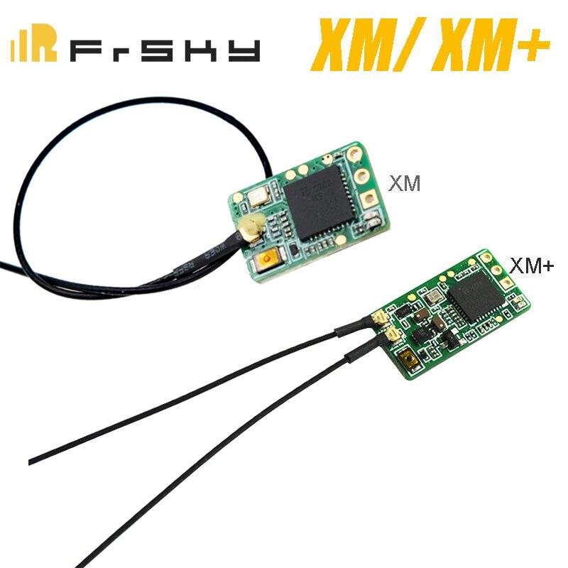 Frsky xm/xm + mais receptor micro d16 sbus receptor gama completa até 16ch para taranis x9d plus, x9d lite, X LITE Peças e Acessórios    -