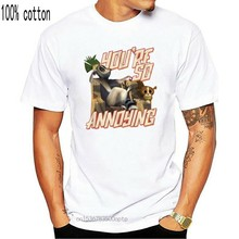 Madagascar you are very annoying adult child t-shirt movie