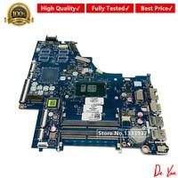 Mainboard 924749-601 924749-928632-601 CKL50 001 LA-E801P para HP 15-bs060wm 15-bs Series Laptop motherboard i3-7100U SR343