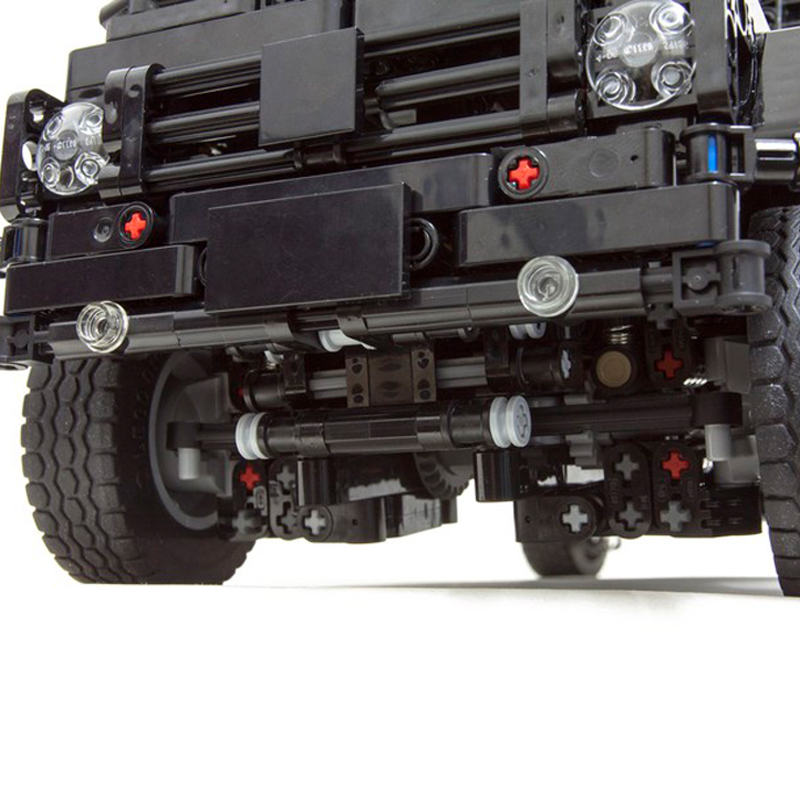 Technic MOC 2425 Mercedes-Benz G500 AWD Wagon Designed By KevinMoo