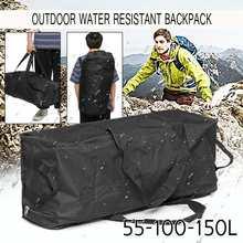Foldable Bag Duffle-Bags Shoulder-Strap 100L 150l-Capacity Travel Large 55L