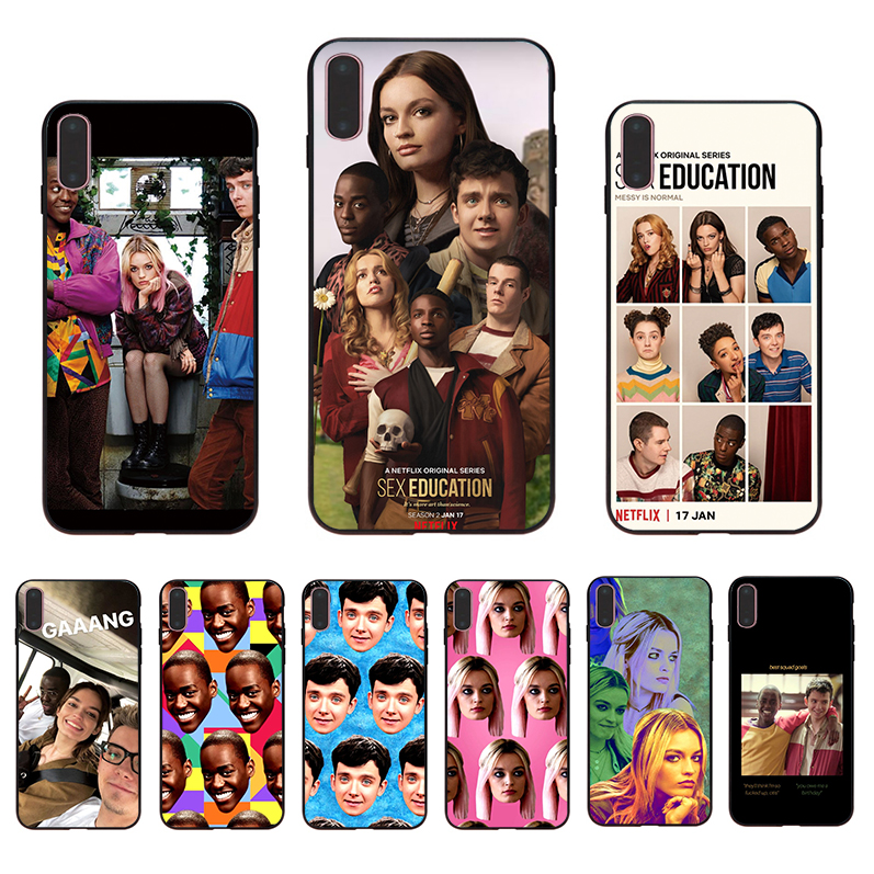Soft TPU phone <font><b>case</b></font> TV series <font><b>Sex</b></font> Education Funda for <font><b>iphone</b></font> 11 pro max 8 <font><b>7</b></font> 6s 6 <font><b>plus</b></font> XR X XS 5 se 5s cover luxury shell Coque image