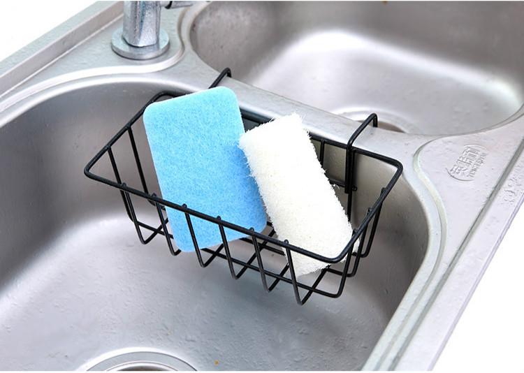 Настенная полка для кухонной раковины