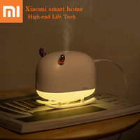 Xiaomi Deer Mini Portable Air Humidifier Air Purifier Ambient Night Light USB Rechargeable Ultrasonic Diffuser For Home Official