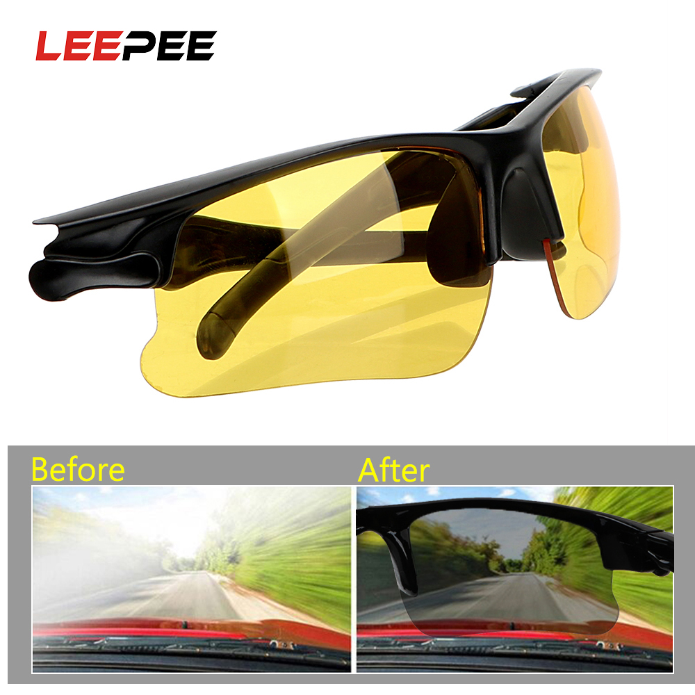 Car Driving <font><b>Glasses</b></font> Night Vision <font><b>Drivers</b></font> Goggles Anti-glare Night-Vision <font><b>Glasses</b></font> Protective Gears Sunglasses Interior Accessorie image