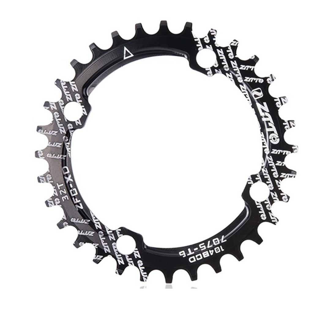 ZTTO Single speed 1x system Narrow Wide chainring 104 BCD ROUND 32T 34T <font><b>36T</b></font> for MTB 11s 10s 9s 1*<font><b>11</b></font> Crankset Chainwheel Ring image
