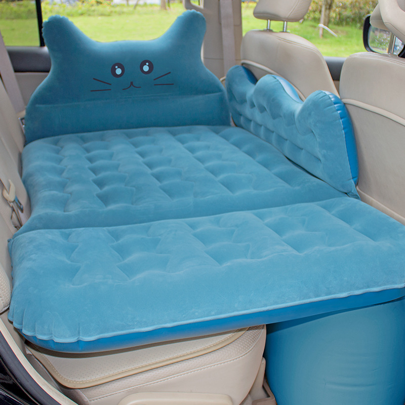 Multifunctional Car inflatable bed car accessories inflatable car bed for back seat travel goods travel bed outdoor camping matt