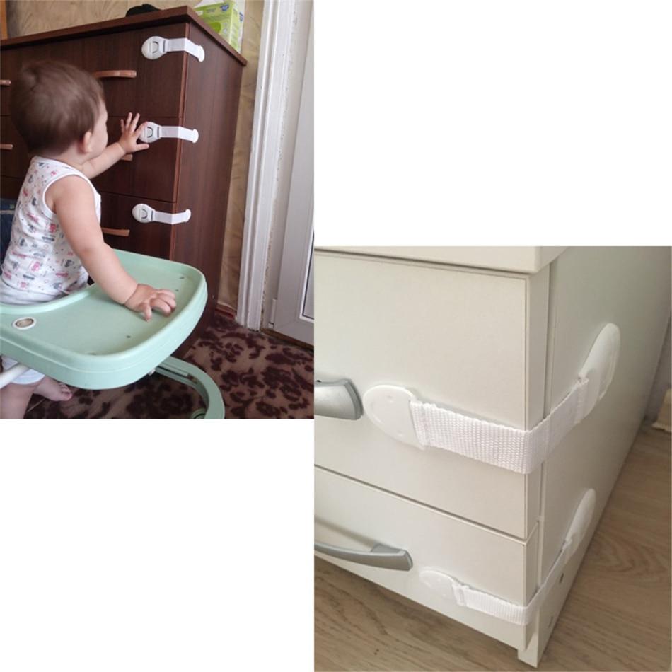 10 шт., Защитный замок, детская безопасность, уход, пластиковый замок с детской защитой, ящик, дверь, шкаф.