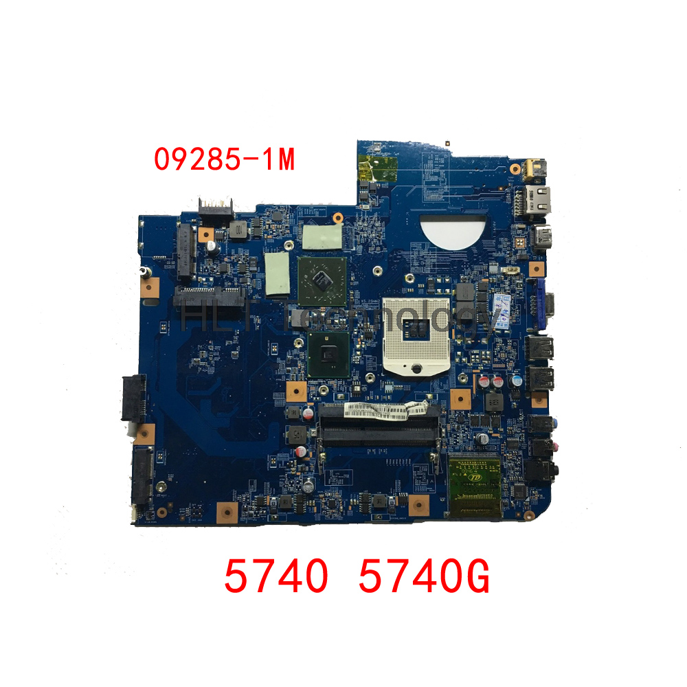 HOLYTIME Laptop Motherboard For Acer 5740 5740G 48.4GD01.01M 09285-1M HM55 DDR3 HD5470 100% tested image