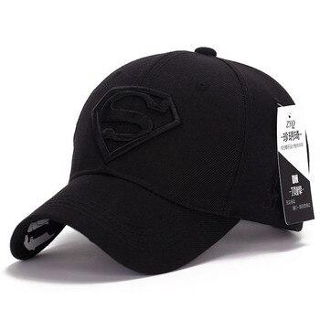 New Fashion Gorras Superman Hat Casquette Superman Baseball Cap Men Brand Women Bone Diamond Snapback Cap For Adult Trucker Hat 2