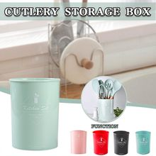 Kitchenware Storage Box Holder Practical Heat Resistant PP Silicone Cookware Storage Rack Kitchen organizer cuisine rangement(China)