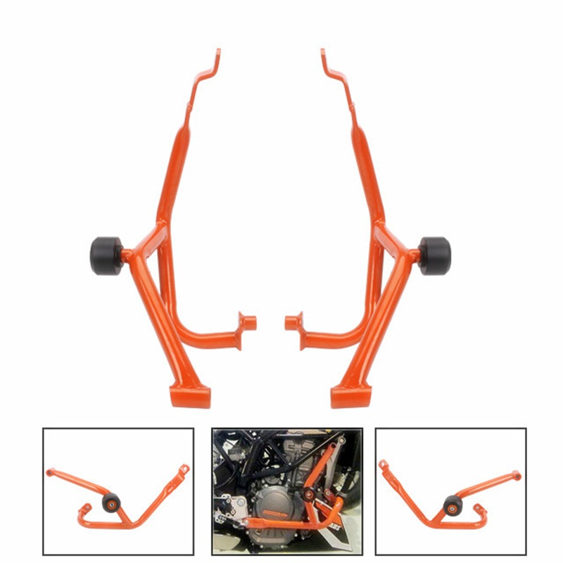 Suitable For 13-16 Years KTM DUKE390 Modified Accessories Motorcycle Engine Bumper Bar Protection Handrail