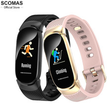 Heart-Rate-Monitoring Smart-Bracelet Bluetooth-Smartwatch Ip68 Waterproof Sports Android