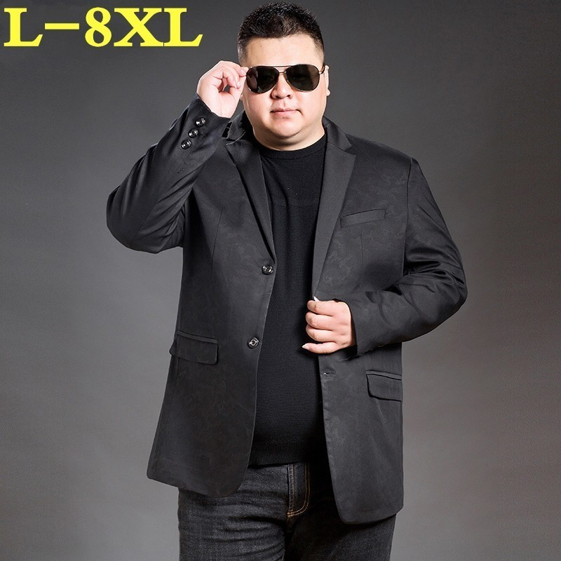 2020 New Plus Size 8XL 7XL  Arrival Brand Clothing Spring And Autumn Suit Blazer Men Fashion Male Suits Casual  Masculine Blazer