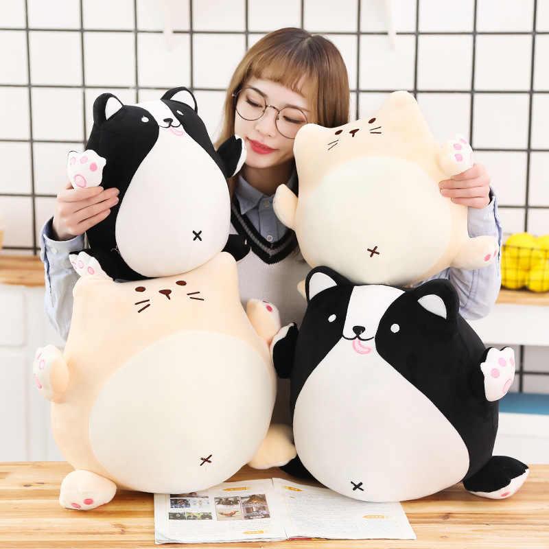 INS Online Celebrity Vet Hond Chubby Kat Knuffel Pop Software Koreaanse stijl Kussen Klauw Machine Pop