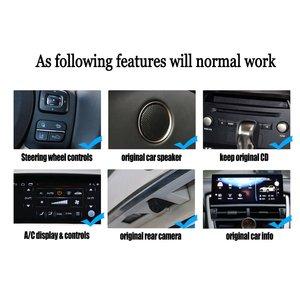Image 3 - Автомобильный мультимедийный плеер Liorlee, для Lexus AL20 RX 300 RX 200t RX 450h 2015 2018, Android, Carplay, GPS, навигация, радио, стерео DVD