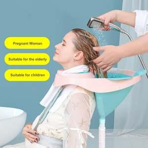 Wash-Bowl Basin Portable-Hair Bathroom Kids Tub for Pregnant-Women Elderly Nursing-Care