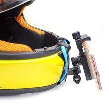 Suporte de celular para moto dji mountain bike, suporte de montagem por queixo para capacete de motocicleta, para moto dji mountain dog, câmera de ação, gravador