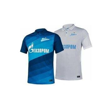 2020 de 2021 zenit casa azul camisa de futebol 20 21 zenit dzyuba azmoun camisas de futebol de ozdoev uniformes de futebol