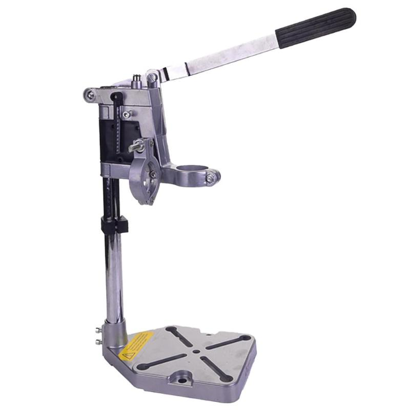 Multi-functional Electric Drill Excellent Aluminum Alloy Stand Holder Bracket For Mini Drill Die Grinder Install Two Electric