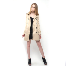 Trench Coat for Women New Windbreaker Trench Coat Double-breasted Belt Trench Coat Long Sleeve Women Clothes Plus Size Overcoat autumn winter trench coat with belt double breasted long sleeved solid lapel long trench coat laipelar european trench for women