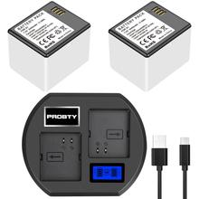 Аккумуляторная батарея для камеры Netgear Arlo Pro, новый литий ионный аккумулятор + зарядное устройство с светодиодный дисплеем, сменный светодиодный аккумулятор