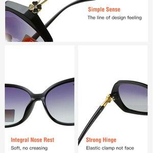 Image 5 - Kadın gözlük güneş gözlüğü polarize moda bağbozumu 2019 yeni marka tasarımcısı kadın sürüş güneş gözlüğü UV400