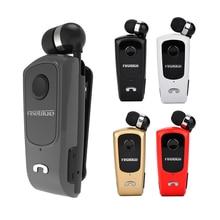 Fineblue Jialan F920 Bluetooth Headset Draadloze Oproep Smart Trillingen Anti-Diefstal Intrekbare Kabel Oortelefoon Bluetooth Voor Xiaomi