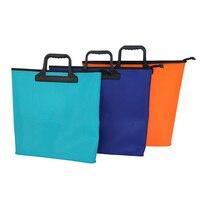 Portable Folding Fishing Bag EVA Foldable Bucket Outdoor Fishing Water Tank Wear Bucket Fish Care Gear Bag Random Color