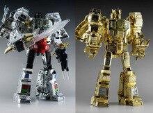 MP08 Grimlock Transformatie MP 08 Oversize Electroplated Versie Action Figure Ko Robot Speelgoed