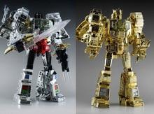 MP08 Гримлок, трансформер, планшетофон, оверсайз, гальванизированная версия, экшн фигурка, KO Robot Toys