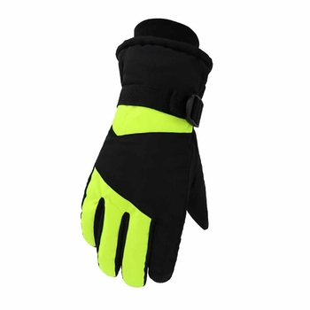Winter Waterproof Ski Gloves Unisex Snowboard Cotton Warm Gloves Motorcycle Gloves Riding Thermal Windproof Snow boots Gloves фото