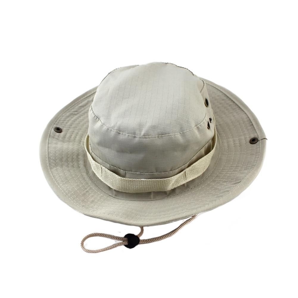 Summer Camo Fisherman Casual Bucket Camping Hiking Travel Fishing Mountaineering Sombrero Sunshade Bonnie Hat For Women Man